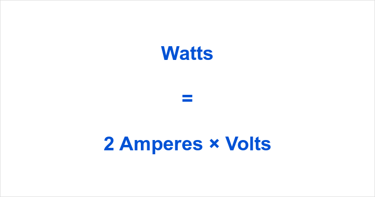 2 Amps to Watts
